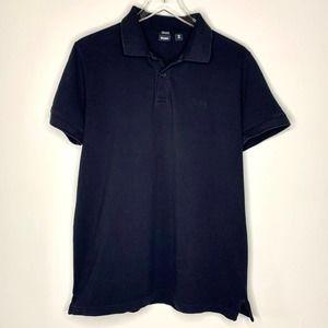 BOSS HUGO BOSS Black Short Sleeve Polo Shirt XL